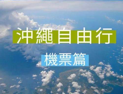 【沖繩自由行:機票篇】 班機時間/價錢/飛機餐/行李/改票/退票全攻略